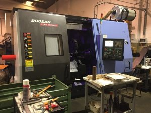 Makinate | Used DOOSAN PUMA TT 2500 SY Lathe with live tooling M1702013689 1