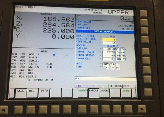 Makinate   Used DOOSAN PUMA TT 2500 SY Lathe with live tooling M1702013689 4