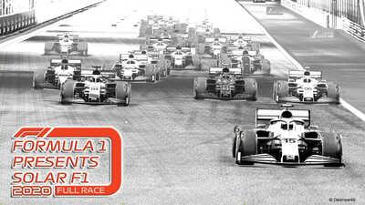 Solar F1 2020 YouTube Screen Full Race