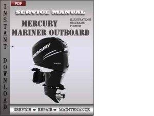Mercury Mariner Outboard 70 75 80 90 100 115 Hp 2stroke Factory Se