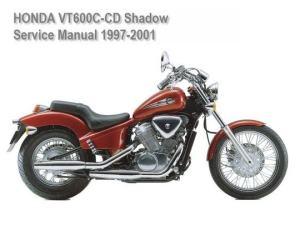 Honda VT 600 CCD Shadow 19972001 Service Repair Manual