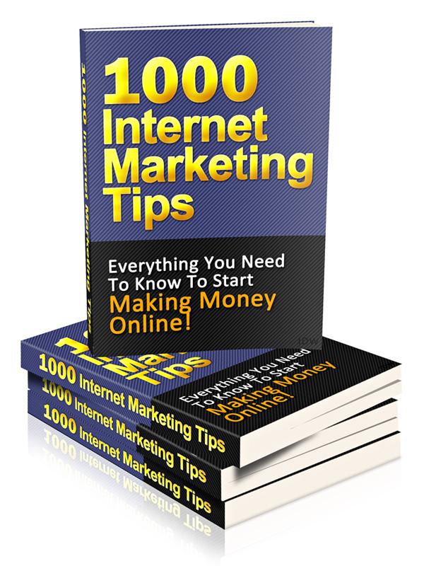 1000 Internet Marketing Tips Download Ebooks
