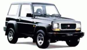 DAIHATSU FEROZA ROCKY F70 F75 F77 F80 F85 WORKSHOP MANUAL