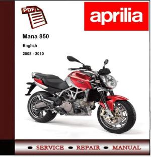 Aprilia Mana 850 2008  2010 Workshop Service Repair