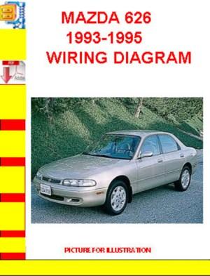 MAZDA 626 19931995 WIRING DIAGRAM  Download Manuals