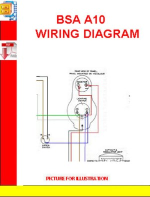 BSA A10 WIRING DIAGRAM  Download Manuals & Technical