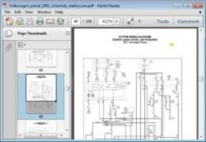 Volkswagen Passat 2001 Wiring Diagram Download  Download Manuals