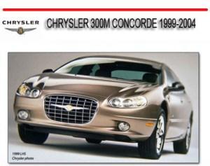 CHRYSLER 300M CONCORDE 19992004 REPAIR SERVICE MANUAL
