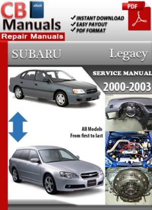 SUBARU Manual – Page 3 – Best Repair Manual Download