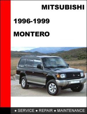 Service manual [1996 Mitsubishi Montero Workshop Manuals