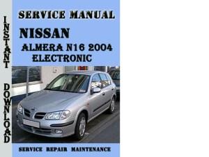 Nissan Almera N16 2004 Electronic Service Manual