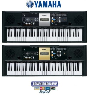Yamaha PSRE223  YPT220 Service Manual & Repair Guide