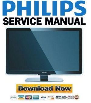 Philips 37PFL7603 Service Manual & Repair Guide  Download Manuals