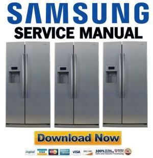 Samsung RS275ACPN Service Manual & Repair Guide  Download