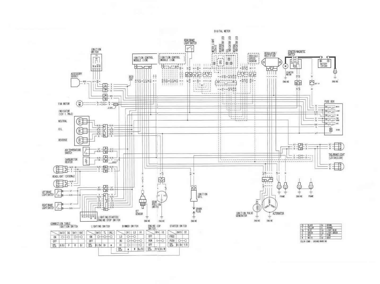 2005 Kawasaki Bayou Wiring Diagram