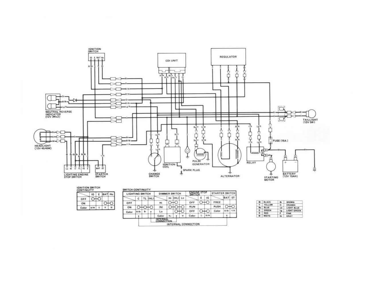 Diagram Wiring Diagram For 1987 Honda Trx 125
