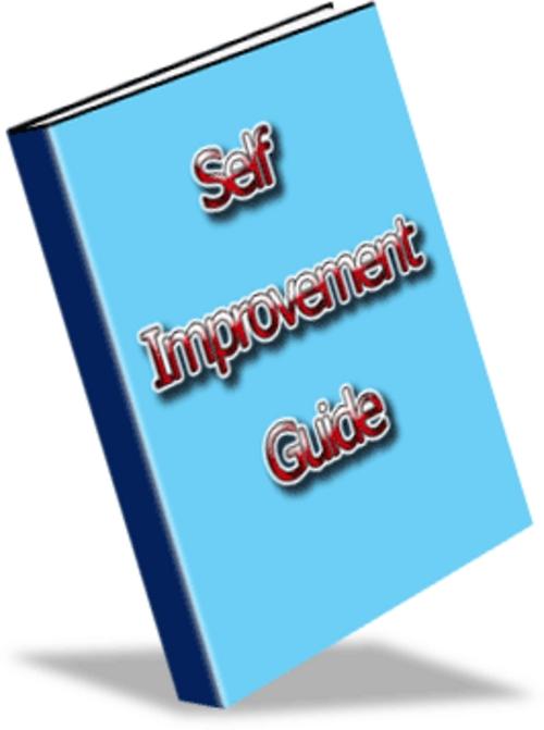 Self Improvement Pdf Books