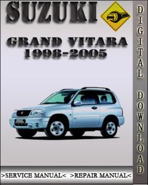 19982005 Suzuki Grand Vitara Factory Service Repair Manual 1999 20