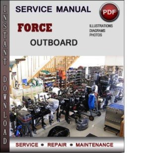 Force Outboard 40 hp 40hp 2 cyl 2stroke 19921999 Factory Service Repair Manual Download Pdf