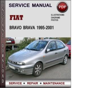 Fiat Bravo Brava 19952001 Factory Service Repair Manual Download P
