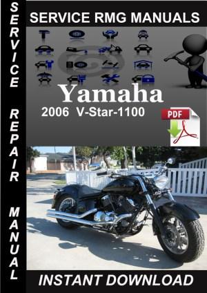 2006 Yamaha VStar1100 Service Repair Manual Download