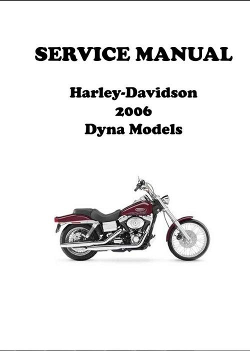 2006 Harley Davidson Dyna Wide Glide Service Manual Pdf