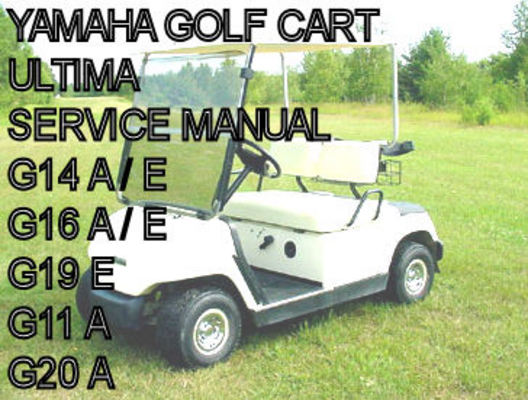 Yamaha Electric Gas Golf Cart Car G11 G14 G16 G19 G20 Shop