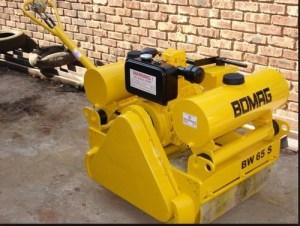 Bomag BW65 S2 Walkbehind double drum vibrat roller