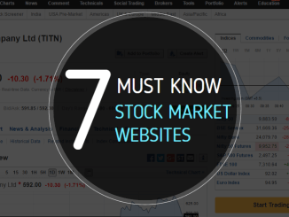 must know websites for Indian stock market investors