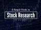 stock research in india cover