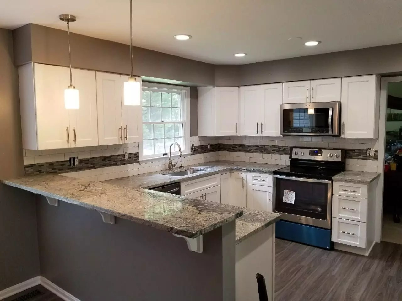 kitchen remodel pasadena, md - trademark construction