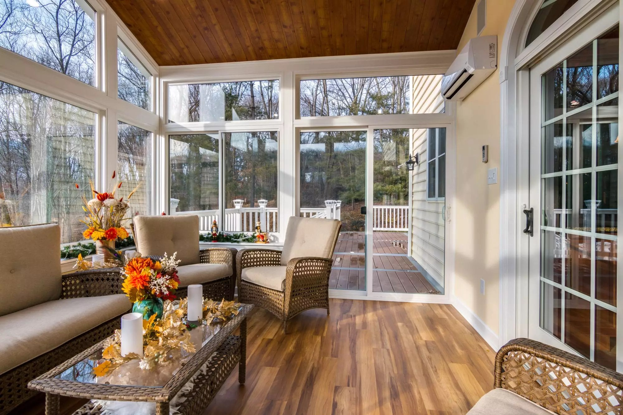 Living Space Sunrooms and Patio Enclosures in Maryland on Backyard Patio Enclosure Ideas  id=13164