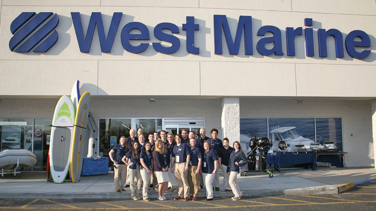 West Marine Holds Grand Opening In Long Island Trade
