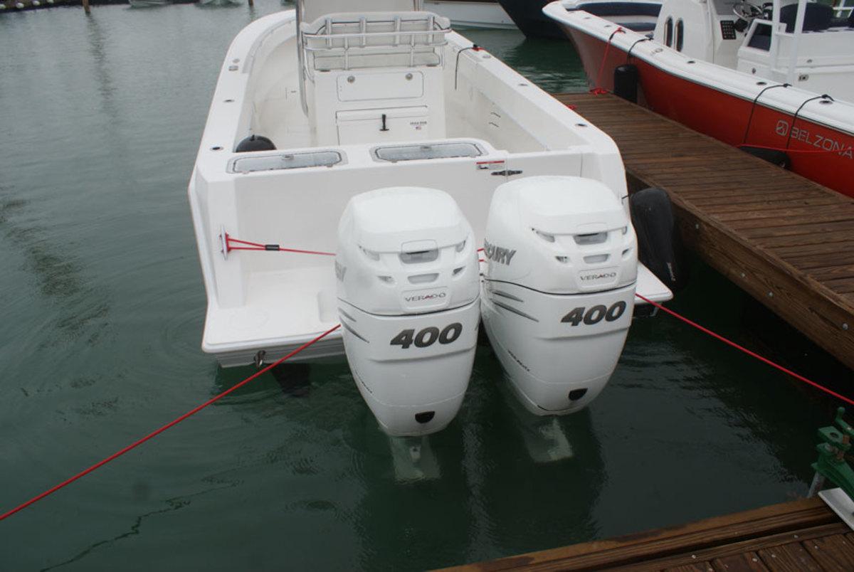 Miami Mercury Unveils 400 Hp Verado Outboard