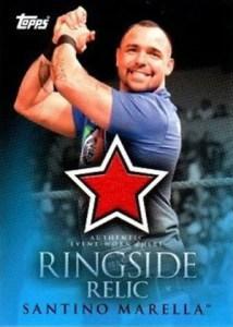 2009 Topps WWE Ringside Relic Santino Marella