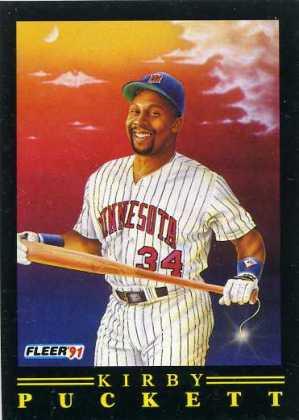 1991 Fleer Baseball Pro-Visions 1 Kirby Puckett