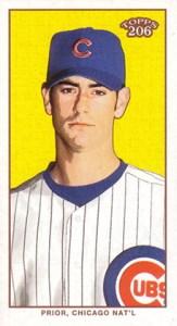 2002 Topps 206 Baseball 350 Mark Prior Mini