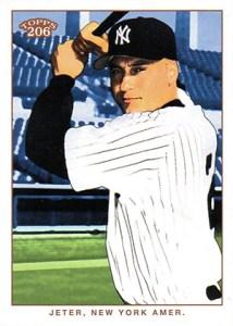 2002 Topps 206 Baseball 380 Derek Jeter