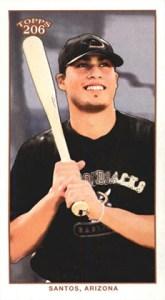 2002 Topps 206 Baseball 431 Sergio Santos Mini