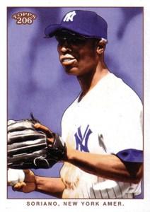 2002 Topps 206 Baseball Variations 312 Alfonso Soriano