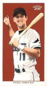2002 Topps 206 Baseball Variations 426 Jason Pridie Mini