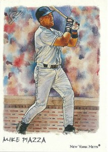 2002 Topps Gallery Baseball 25 Mike Piazza