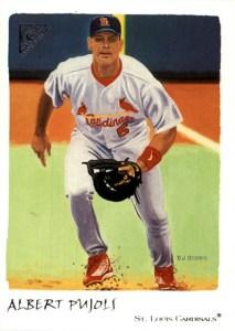 2002 Topps Gallery Baseball 56 Albert Pujols