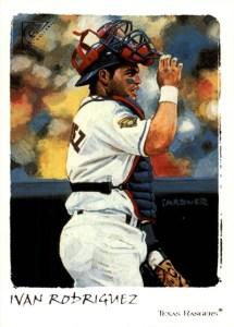 2002 Topps Gallery Baseball 71 Ivan Rodriguez