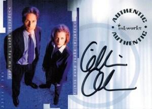 2003 Inkworks X-Files Season 9 Autographs Gillian Anderson