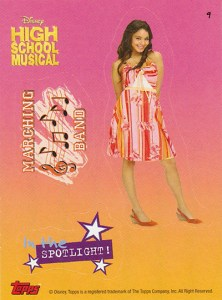 2007 Topps High School Musical Stickers