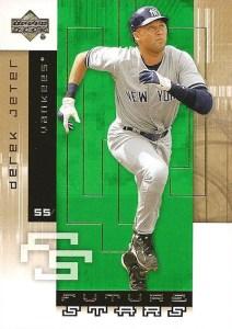 2007 Upper Deck Future Stars Baseball Base Derek Jeter