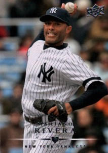 2008 Upper Deck Baseball Base Mariano Rivera