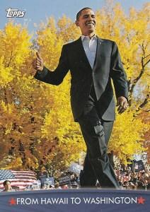 2009 Topps President Obama Base