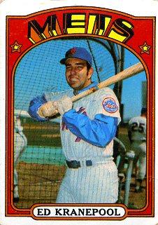 1972 Topps Baseball 181 Ed Kranepool